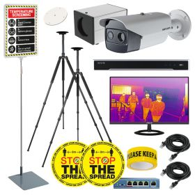 Hikvision DS-2TD2636B Hi-Res Body Temp Thermal Cameras – Pro Solutions Kit