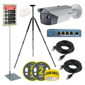 Hikvision DS-2TD2636B Hi Res Body Temp Thermal Cameras – Solutions Kit