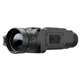 Pulsar Helion XQ50F Thermal Scope Showing off Lens