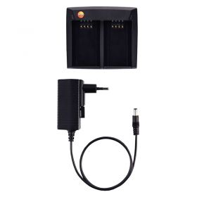 Testo 05548851 Charging Station for Two Rechargeable Batteries