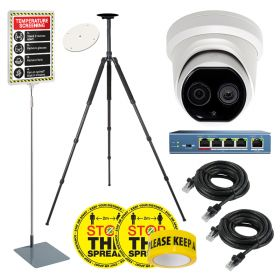 Hikvision DS-2TD1217B Low-Res Body Temp Thermal Cameras – Solutions Kit