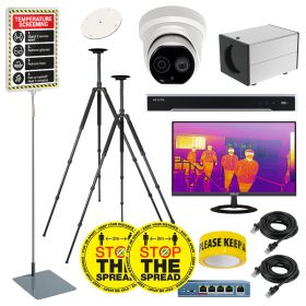 Hikvision DS-2TD1217B Low-Res Body Temp Thermal Cameras – Pro Solutions Kit