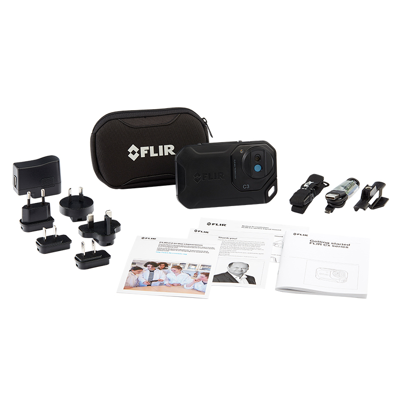 FLIR C3 Thermal Camera - Exclusive Kit for Schools/Colleges/Education