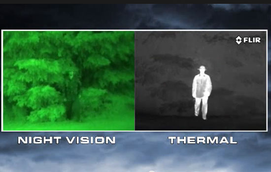 Night Vision vs Thermal