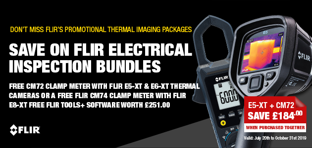FLIR E6-XT Thermal Imaging Camera with Wi-Fi (9Hz)