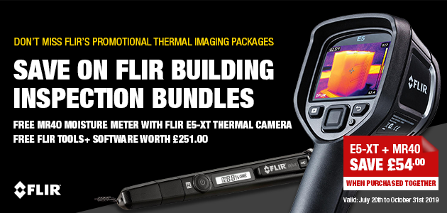FLIR E5-XT Thermal Imaging Camera with Wi-Fi (9Hz)
