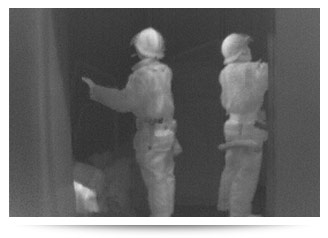 Fire Fighting Thermal Image