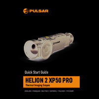 Pulsar Helion 2 XP50 Pro Thermal Imaging Scope - Quick Start Guide