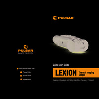 Pulsar Lexion Thermal Imaging Scopes - Quick Start Guide