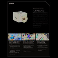 FLIR A50 & A70 Smart Sensor Thermal Imaging Solutions - Datasheet