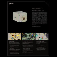 FLIR A50 & A70 Image Streaming Thermal Imaging Solutions - Datasheet