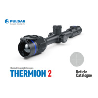 Pulsar Thermion 2 Thermal Imaging Weapon Sight - Reticle Catalogue