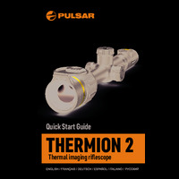 Pulsar Thermion 2 Thermal Imaging Weapon Sight - Quick Start Guide