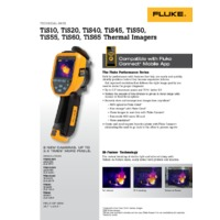 Fluke TiS10 Thermal Camera - Datasheet