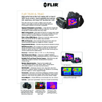 FLIR T620 Thermal Camera - Datasheet
