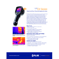 FLIR EX Series Thermal Cameras - Datasheet