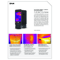 FLIR One Pro Lite Smartphone Thermal Camera for Android & iOS (3rd Gen) - Datasheet