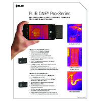 FLIR One Pro Lite Smartphone Thermal Camera for Android & iOS (3rd Gen) - Comparison Leaflet
