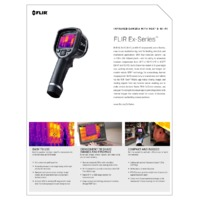 FLIR Ex-XT Series Thermal Cameras with Wi-Fi - Datasheet