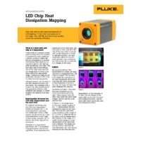 Fluke RSEX00 Radiometric Thermal Imaging Cameras - LED Chip Heat Dissipation Mapping