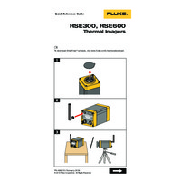 Fluke RSEX00 Radiometric Thermal Imaging Cameras - Quick Reference Guide