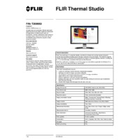 FLIR Thermal Studio Software -Product Specifications