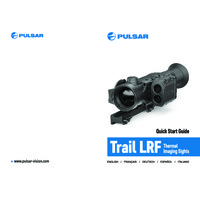 Pulsar Trail LRF Thermal Imaging Weapon Scope - Quick Start Guide