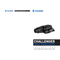 Pulsar Challenger GS 1x20 Night Vision Monocular - Instruction Manual