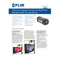 FLIR A320 Temperature Screening - Application Note