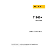Fluke TiS60+ Thermal Imaging Camera - Product Specifications