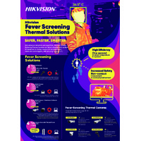 Hikvision Fever Screening Thermal Solutions - Leaflet