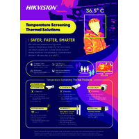 Hikvision Temperature Screening Thermal Solutions - Leaflet