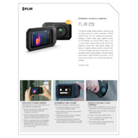 FLIR C5 Compact Thermal Camera with Cloud Connectivity & Wi-Fi - Datasheet