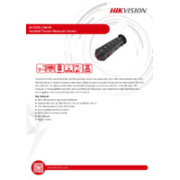 Hikvision DS-2T03-15XFW Handheld Thermal Monocular (Eco) - Datasheet