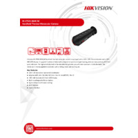 Hikvision DS-2T01-06XFW Handheld Thermal Monocular (Eco) - Datasheet