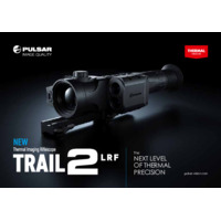 Pulsar Trail 2 LRF Thermal Imaging Weapon Scope - Booklet