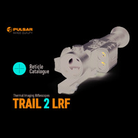 Pulsar Trail 2 LRF Thermal Imaging Weapon Scope - Reticle Catalogue