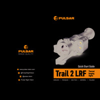 Pulsar Trail 2 LRF Thermal Imaging Weapon Scope - Quick Start Guide