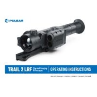 Pulsar Trail 2 LRF Thermal Imaging Weapon Scope - Operating Instructions