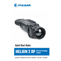 Pulsar Helion 2 XP50 Thermal Scope - Quick Start Guide
