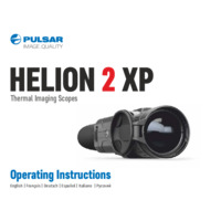 Pulsar Helion 2 XP50 Thermal Scope - Operating Instructions