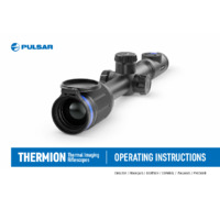 Pulsar Thermion Thermal Imaging Weapon Scope - Operating Instructions