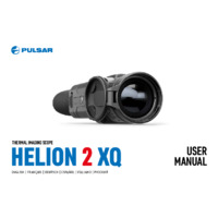 Pulsar Helion 2 Thermal Imaging Scopes - User Manual